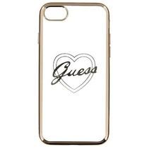 Guess Achterkant voor Apple iPhone 7-8 -  Goud (3700740386514)