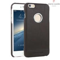 Pierre Cardin Achterkant voor Apple iPhone 6 Plus  -  D Bruin (8719273128985)