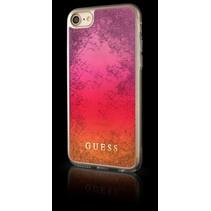 Guess Achterkant voor Apple iPhone 7-8 -  Roze (3700740398227)