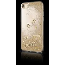 Guess Achterkant voor Apple iPhone 7-8 -  Goud (3700740398142)