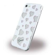 Guess Achterkant voor Apple iPhone 7-8 -  Wit (3700740396322)