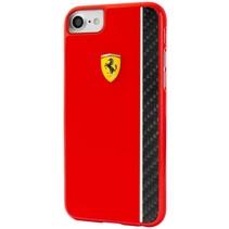 Ferrari Achterkant voor Apple iPhone 7-8 -  Rood (3700740388570)