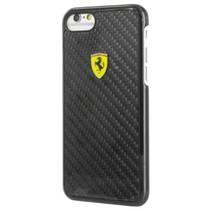 Ferrari Achterkant voor Apple iPhone 7-8 -  Zwart (3700740393512)