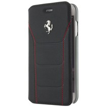 Ferrari Booktype voor Apple iPhone 7-8  - Zwart (3700740388259)