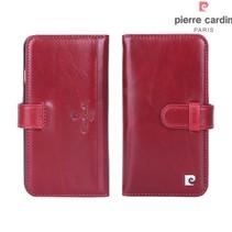 Pierre Cardin Booktype voor Apple iPhone 7-8  - Rood (8719273209868)