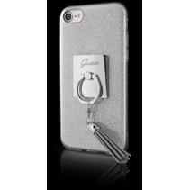 Guess Achterkant voor Apple iPhone 7-8 -  Zilver (3700740394212)