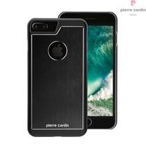 Pierre Cardin Achterkant voor Apple iPhone 7-8Plus  -  Grijs (8719273130346)