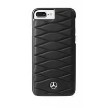Mercedes-Benz Achterkant voor Apple iPhone 7-8Plus  -  Zwart (3700740401132)