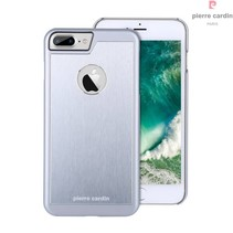 Pierre Cardin Achterkant voor Apple iPhone 7-8Plus  -  Zilver (8719273130377)