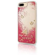 Guess Achterkant voor Apple iPhone 7-8Plus  -  Rood (3700740398173)