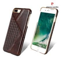 Pierre Cardin Achterkant voor Apple iPhone 7-8Plus  -  D Bruin (8719273130612)