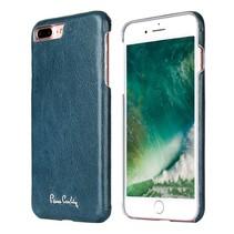 Pierre Cardin Achterkant voor Apple iPhone 7-8Plus  -  Sapphire Blauw (8719273130728)
