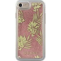 Guess Achterkant voor Apple iPhone 7-8Plus  -  Roze (3700740398241)