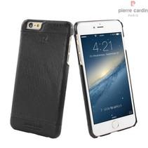 Pierre Cardin Achterkant voor Apple iPhone 6 Plus  -  Zwart (8719273213612)