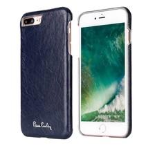 Pierre Cardin Achterkant voor Apple iPhone 7-8Plus  -  Blauw (8719273130711)