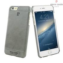 Pierre Cardin Achterkant voor Apple iPhone 6 Plus  -  Grijs (8719273213650)