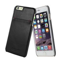 Pierre Cardin Achterkant voor Apple iPhone 6 Plus  -  Zwart (8719273213964)