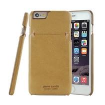 Pierre Cardin Achterkant voor Apple iPhone 6 Plus  -  Geel (8719273213971)