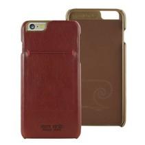 Pierre Cardin Achterkant voor Apple iPhone 6 Plus  -  Rood (8719273213988)