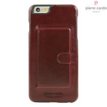 Pierre Cardin Achterkant voor Apple iPhone 6 Plus  -  Rood (8719273214275)