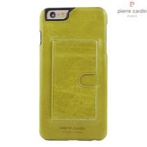 Pierre Cardin Achterkant voor Apple iPhone 6 Plus  -  Groen (8719273214299)