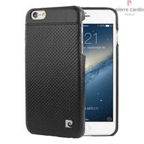 Pierre Cardin Achterkant voor Apple iPhone 6 Plus  -  Zwart (8719273214909)