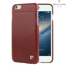Pierre Cardin Achterkant voor Apple iPhone 6 Plus  -  Rood (8719273214923)