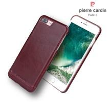 Pierre Cardin Achterkant voor Apple iPhone 7-8Plus  -  Rood (8719273229354)