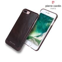 Pierre Cardin Achterkant voor Apple iPhone 7-8Plus  -  D Bruin (8719273229378)