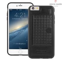 Pierre Cardin Achterkant voor Apple iPhone 6 Plus  -  Zwart (8719273214541)