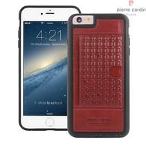 Pierre Cardin Achterkant voor Apple iPhone 6 Plus  -  Rood (8719273214565)