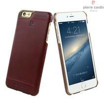 Pierre Cardin Achterkant voor Apple iPhone 6 Plus  -  Rood (8719273213629)