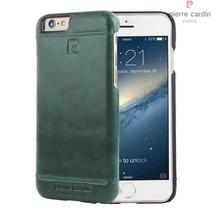 Pierre Cardin Achterkant voor Apple iPhone 6 Plus  -  Groen (8719273213667)
