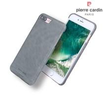 Pierre Cardin Achterkant voor Apple iPhone 7-8Plus  -  Grijs (8719273229385)