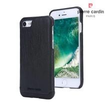 Pierre Cardin Achterkant voor Apple iPhone 7-8 -  Zwart (8719273229286)