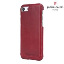 Pierre Cardin Achterkant voor Apple iPhone 7-8 -  Rood (8719273229293)