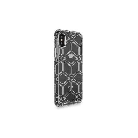 Achterkant voor Apple iPhone X-Xs  -  Zwart (8719273267776)