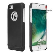 Pierre Cardin Achterkant voor Apple iPhone 7-8 -  Zwart (8719273129821)