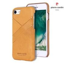 Pierre Cardin Achterkant voor Apple iPhone 7-8 -  Goud (8719273129951)