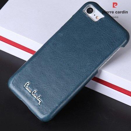 Pierre Cardin Achterkant voor Apple iPhone 7-8 -  Blauw (8719273129906)