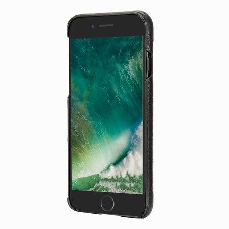Pierre Cardin Achterkant voor Apple iPhone 7-8 -  Zwart (8719273129760)
