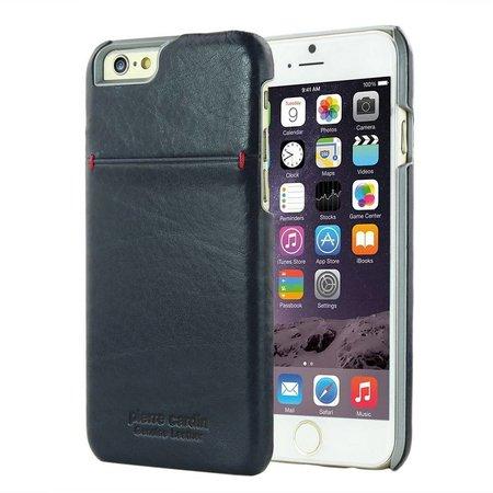 Pierre Cardin Achterkant voor Apple iPhone 6  -  Sapphire Blauw (8719273213957)