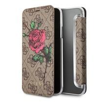 Guess Booktype voor Apple iPhone 7-8  - Bruin (3700740327296)