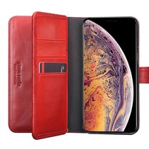 Pierre Cardin Booktype voor Apple iPhone Xs Max  - Rood (8719273277911)