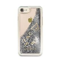 Guess Achterkant voor Apple iPhone 7-8 -  Zilver (3700740417614)
