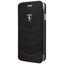 Ferrari Booktype voor Apple iPhone 7-8 Plus  - Zwart (3700740399125)
