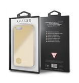 Guess Achterkant voor Apple iPhone 7-8Plus  -  Goud (3700740417409)