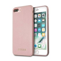 Guess Achterkant voor Apple iPhone 7-8Plus  -  Rose Gold (3700740417485)