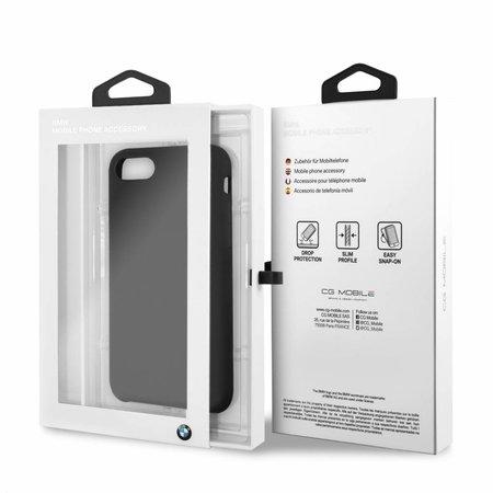 BMW Achterkant voor Apple iPhone 7-8 -  Zwart (3700740414392)