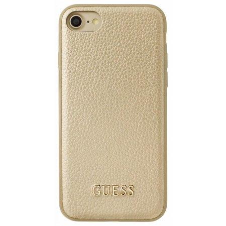 Guess Achterkant voor Apple iPhone 7-8 -  Goud (3700740397688)